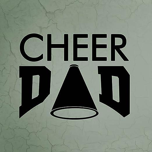 Cheer Dad - Cartel Cuadrado de Aluminio: Amazon.es: Deportes ...