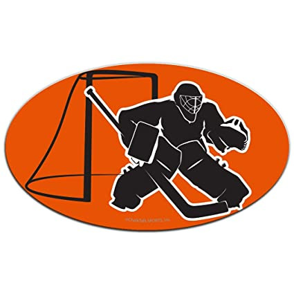 Amazon Com Chalktalksports Hockey Car Magnet Hockey Goalie