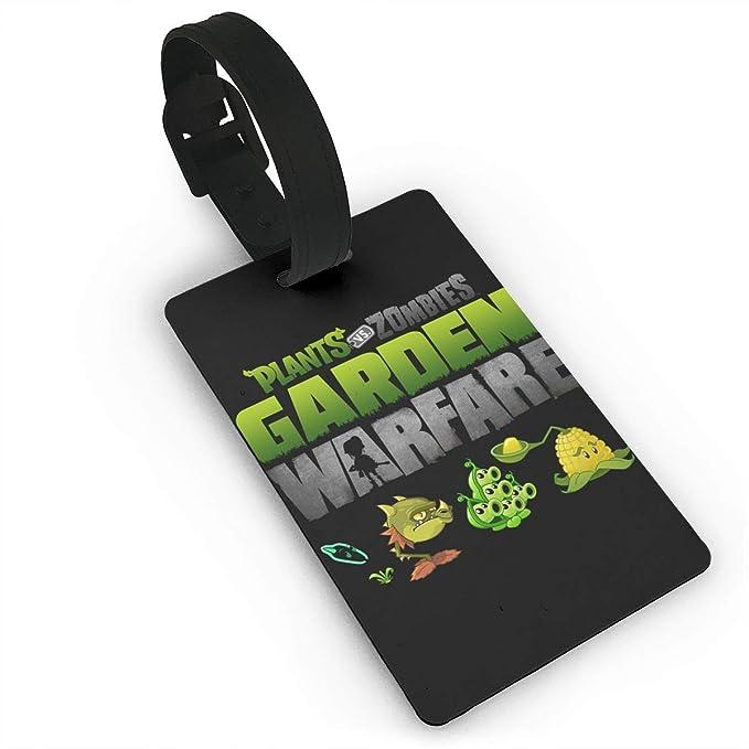 Amazon.com: LuckyTagy Plants Vs. Zombies Cool Luggage Tag ...