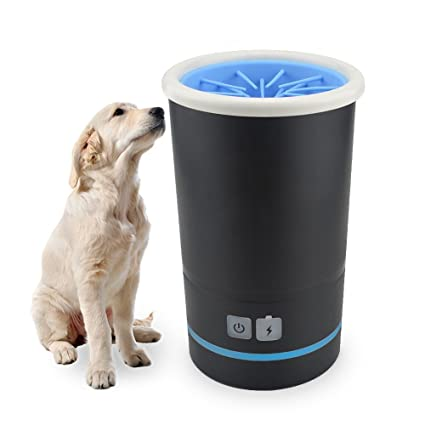Amazon Com Automatic Dog Paw Cleaner Portable Pet Foot Washer Cup