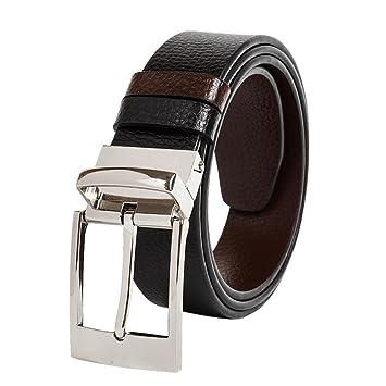 Goupille Boucle Ceinture business casual ceinture pour homme  Amazon ... 3137bfe2704