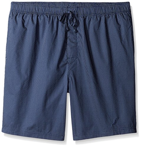Nautica Big and Tall Men's Woven Sleep Jam Short, Peacoat, 5X