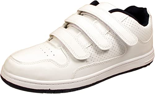 Faux Leather Walking Trainers Shoes