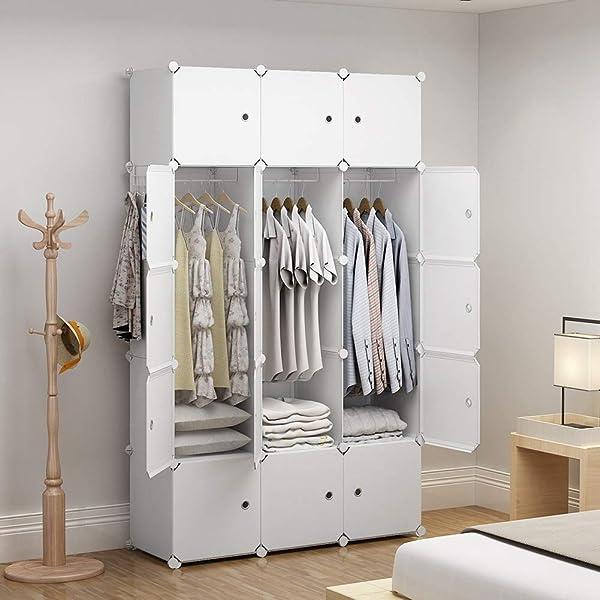 "Mini 14 x 14/"" White Wire Grid Storage Cube Closet Garage Organizer Panel 1pc"