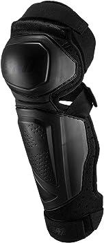 Leatt 2019 EXT 3.0 Knee /& Shin Guards White//Black Large//X-Large