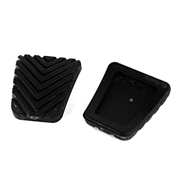 Amazon.com: uxcell 2 Pcs Black Rubber Brake Clutch Pedal Pad 32825-36000: Automotive