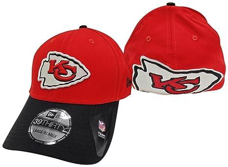 1c5e911e8 ... 50% off kansas city chiefs new era clean hit 39thirty flex fit hat cap  medium