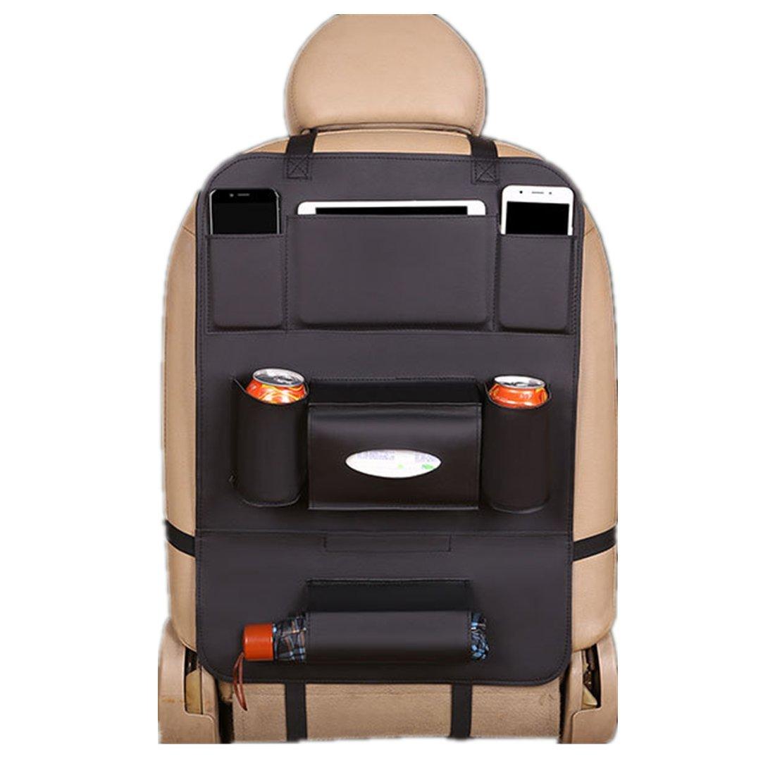VICTORIE Auto Sedile Posteriore Organizzatore Protezione Tasca Custodia Bambini Tablet Nero