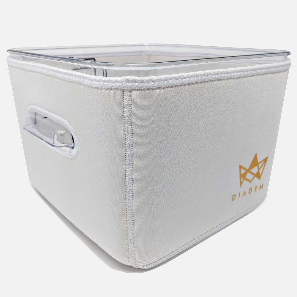 IMPROVED Sous Vide Container Neoprene Sleeve For Rubbermaid 12 Quart-Protect Your Work Surface–Reduce Cooking Time and Save Electricity From Increased Insulation-Foldable & Easy To Clean–By DIADEM Diadem Enterprise