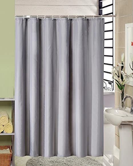 LJL High Quality Shower Curtain Hotel Waterproof Bath Cover Bathroom Anti