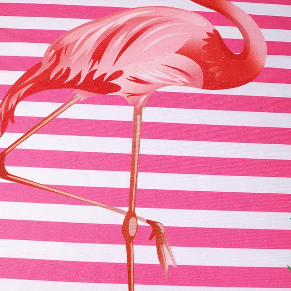 Telo da Bagno per Nuoto Flamingo Rosa Spiaggia Telo da Picnic 70 cm x 150 cm//27,6 cm x 59 Coperta da Campeggio Telo da Spiaggia Asciugamano da Piscina RainBabe