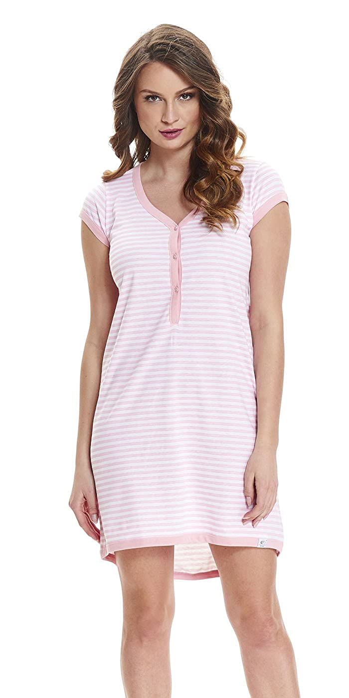 Dobranocka 5038 Maternity/Nursing Nightdress