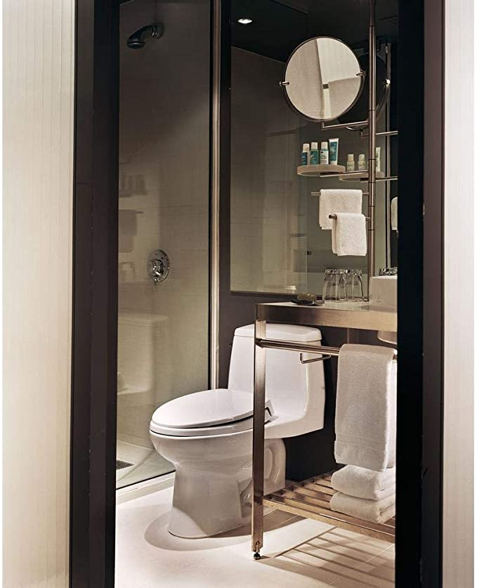 Toto Ms854114elg 01 Eco Ultra Max One Piece Elongated 1 28 Gpf Ada Compliant Toilet With Cefiontect Cotton White Amazon Com