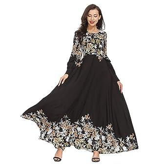 Amazon.com: Toponly – Vestido de balancín musulmán para ...