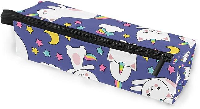 Estuche portátil para gafas de sol con diseño de unicornio y estrella, diseño de unicornio, para mujeres, niñas y niños, con cremallera, para guardar cosméticos: Amazon.es: Bricolaje y herramientas