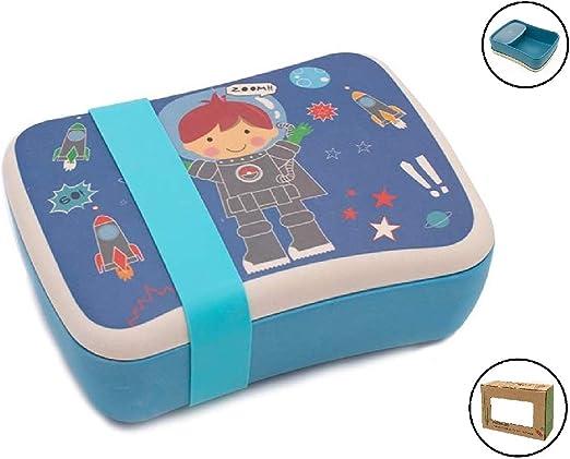 Fiambrera de Bambu Infantil ♻ Pack Tuper y Sandwichera de Fibra ...