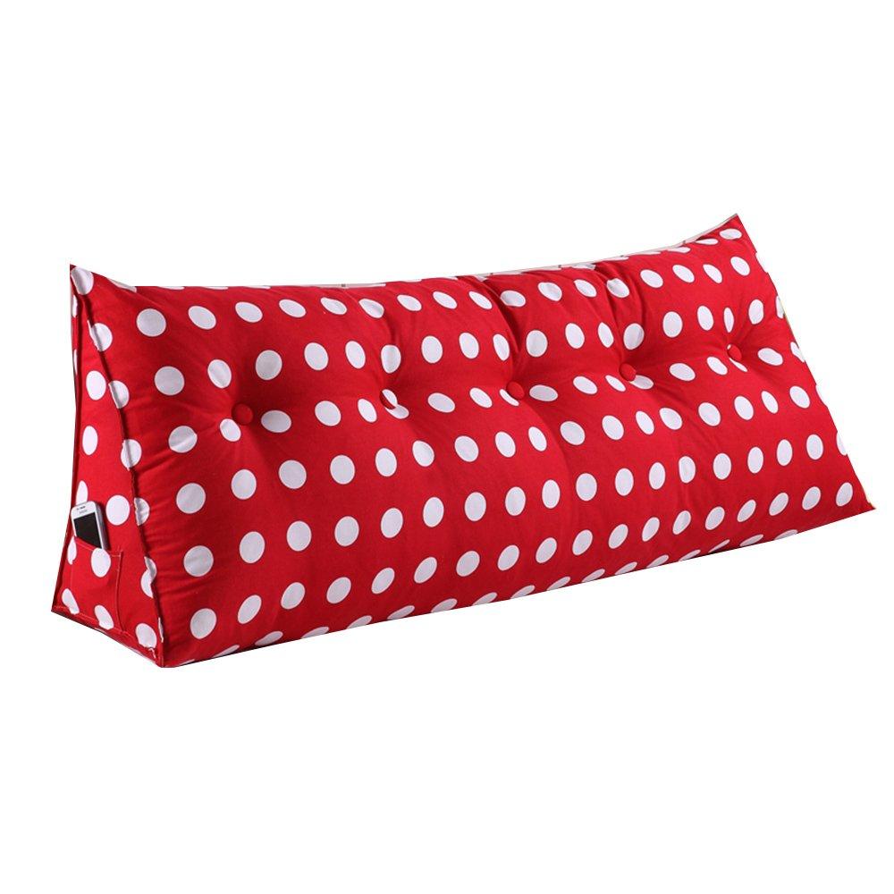 クッション ダブルトライアングルクッションベッドサイドソフトケース枕ベッド上の大きな背もたれ排除せずに独立したライナー離れて離れてベッドのヘッドレストを洗う 枕 (色 : 04, サイズ さいず : 80*50*25cm) B07F5W5P6T 80*50*25cm|04 4 80*50*25cm