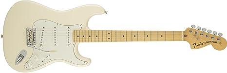 Fender 0115602305American Special Stratocaster arce diapasón guitarra eléctrica-Olímpico Blanco