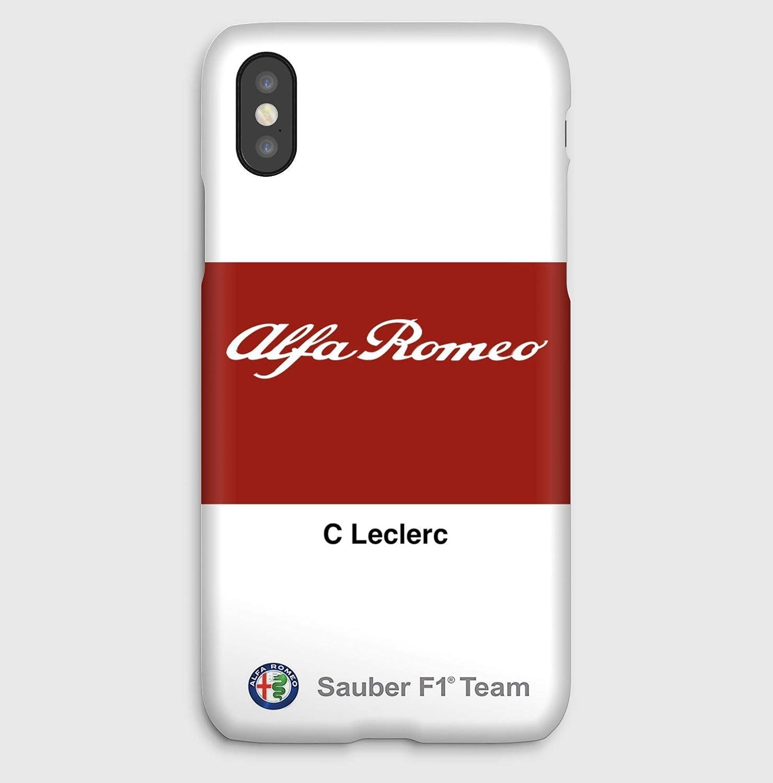 Alfa Romeo C Leclerc, coque pour iPhone XS, XS Max, XR, X, 8, 8+, 7, 7+, 6S, 6, 6S+, 6+, 5C, 5, 5S, 5SE, 4S, 4,