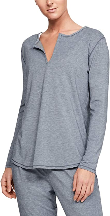 Under Armour Womens Recovery Sleepwear Longsleeve Long Sleeves Long-Sleeve Shirt