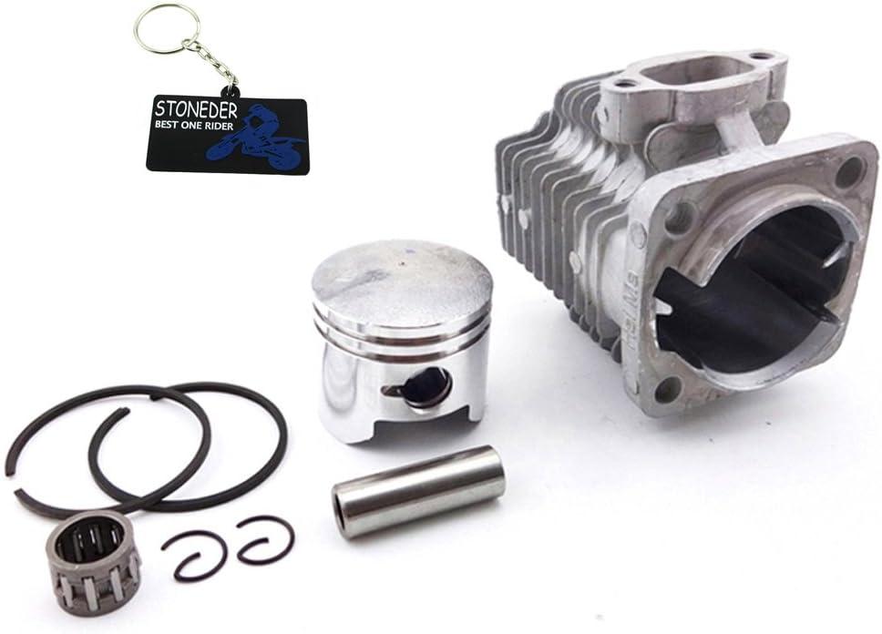Stoneder Zylinder Kolben Set Für 49 Cc 2 Takt Motor Mini Quad Atv Pocket Dirt Bike 44 Mm Auto