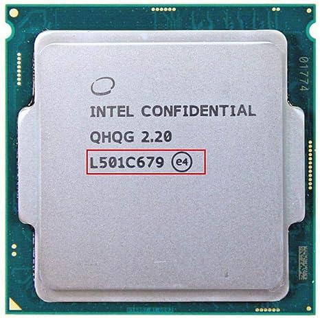 QHQG ES Intel CORE I7 CPU 6400 Overclocking I7 Processor I7-6700K I7 6700 6700K Q0 2.2MHZ 1151 8WAY HD530 DDR3L//DDR4