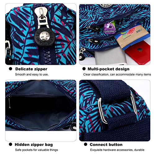 Shoulder Women customized Messenger blue bag 3 ABLE Crossbody Splash Bags Anti qfwPnxOt