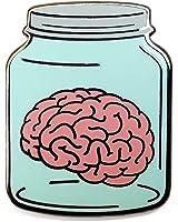 Pinsanity Brain in a Jar Lapel Pin