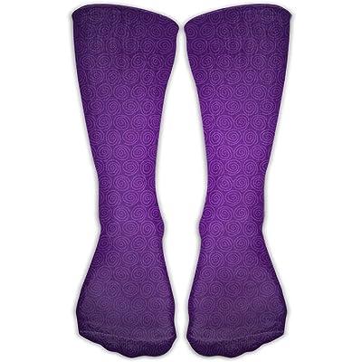 YUANSHAN Socks Snail Shell Women & Men Socks Soccer Sock Sport Tube Stockings Length 11.8Inch
