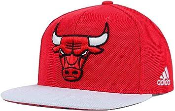 adidas para Hombre NBA 2015 Proyecto Gorra, OSFA, Chicago Bulls ...