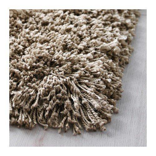 Ikea GASER Langflor Teppich in beige; (170x240cm): Amazon.de: Küche ...