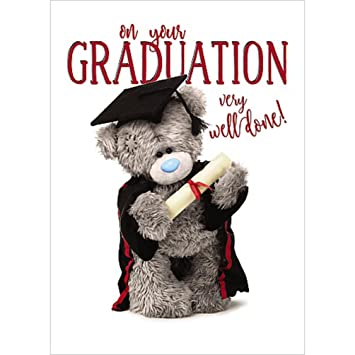 On your graduation small carte blanche tatty teddy me to you on your graduation small carte blanche tatty teddy me to you greeting card m4hsunfo
