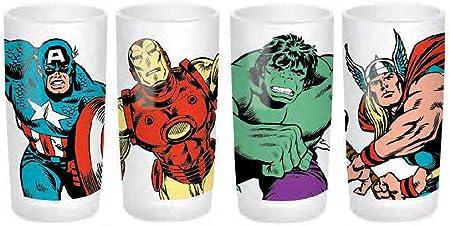 Set de 4 Vasos Marvel Marvel avengers assemble 2454140031