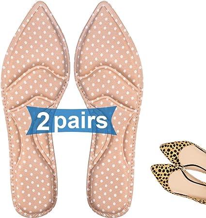 Details about  /Women Ladies High Heeled Shoe Gel Orthotic Massaging Insoles Insert KV