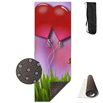 Amazon.com : Bennett11 Yoga Mat with Carrying Bag Double ...