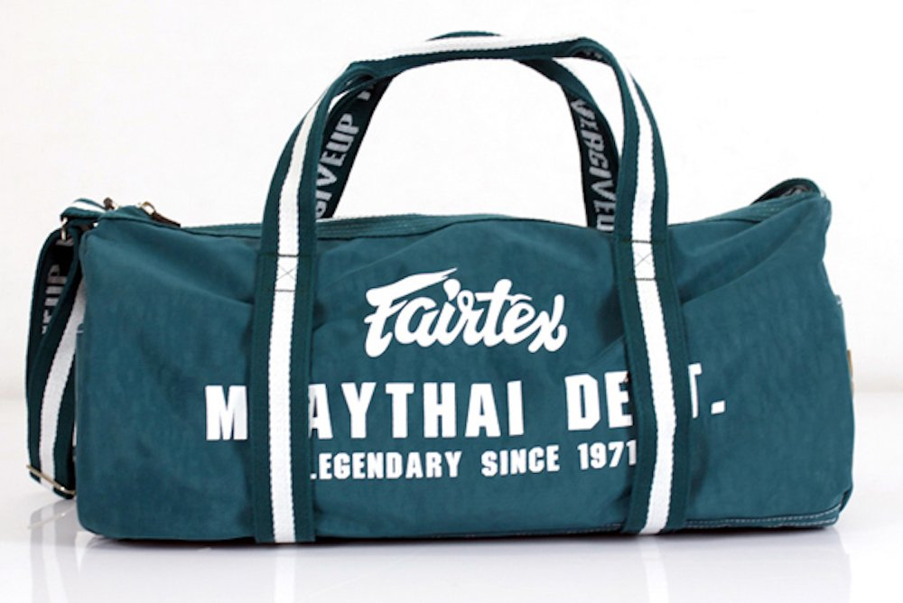 MMABLAST FAIRTEX Barrel Bag/Duffle Bag - BAG9- Green - Nylon