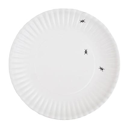 Picnic Ants Faux Paper 9-inch Melamine Plates Set of 4  sc 1 st  Amazon.com & Amazon.com: Picnic Ants Faux Paper 9-inch Melamine Plates Set of 4 ...