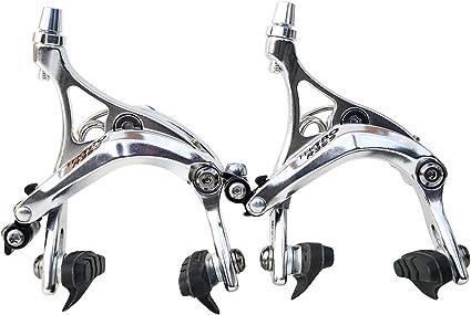 Black or Silver Road Bike 47-59mm Tektro R539 Side Pull Brake Front or Rear