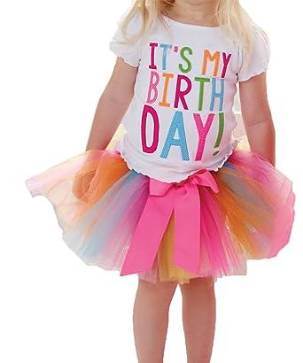 Xtrafun® es mi cumpleaños bebé niños niños niñas princesa vestido ...
