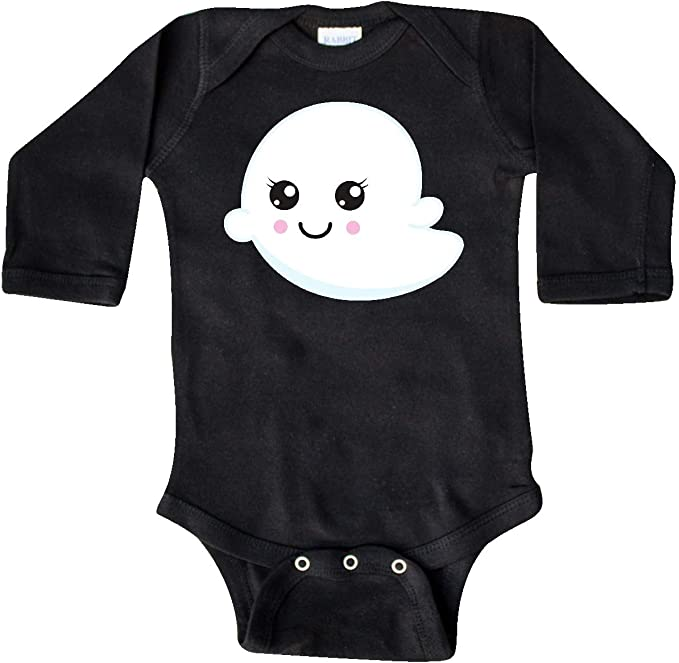 inktastic Grampa is My Boo with Cute Ghost Long Sleeve Creeper