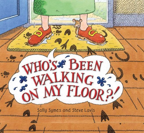 Who's Been Walking on My Floor? by Brand: Barron's Educational Series (Image #1)