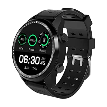 XUWLM Pulsera Smart Watch Android 6.0 OS Smartwatch 4G WiFi GPS ...