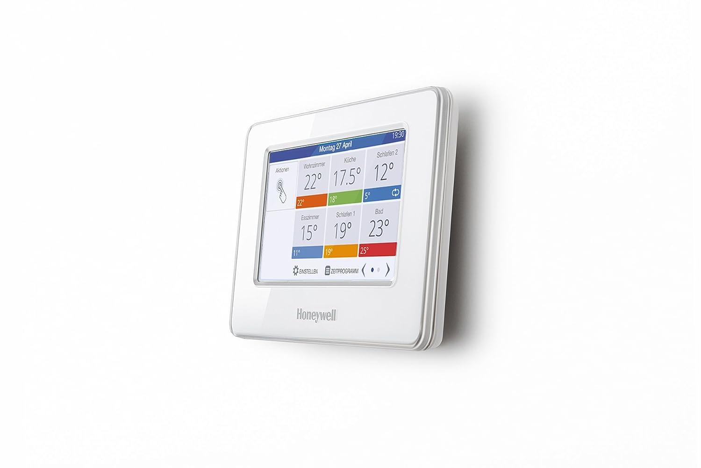 Honeywell Home Evohome, Termostato programable Inteligente por Zonas inalámbrico, THR99C3100, Blanco: Amazon.es: Bricolaje y herramientas