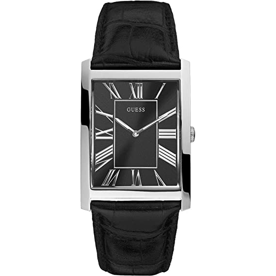 Reloj Rectangular de hombre de pulsera Guess Mod. W65016G1