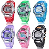 Voberry-Sports-Digital-LED-Watches-Alarm-Date-Rubber-Wrist-Watch-for-Children-Girls-Boys-Blue-Pse-276blue