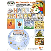 ScrapSMART - Halloween Spirits - Software Collection - Jpeg & PDF files (CDHWD156)