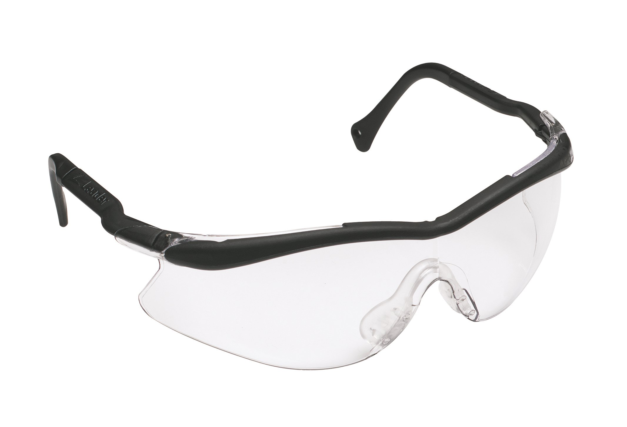 3M QX Protective Eyewear 2000, 12109-10000-20 Clear Lens, Black Temple, Soft NB (Pack of 20)