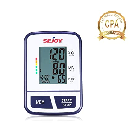 ... Large Digital Screen, Easy to Use, Standard and Large Universal Arm Cuff, Batteries Included, SEJOY BSP-11 Series …: Health & Personal Care