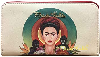 Frida Kahlo Monkeys and Circles Collection Wallet