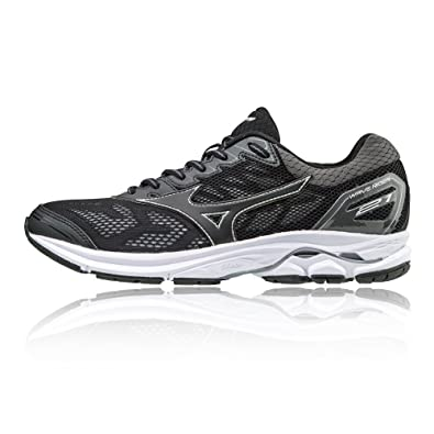 Mizuno Wave Rider 21 Women s Running Shoes - SS18 Black  Amazon.co ... 8ced1ffa59